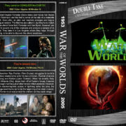 War of the Worlds Double Feature (1953-2005) R1 Custom DVD Cover