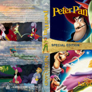 Peter Pan Double Feature (1953-2002) R1 Custom Blu-Ray Cover