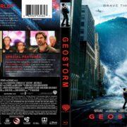 Geostorm (2017) R1 Custom Blu-Ray Cover