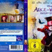 Alice im Wunderland: Hinter den Spiegeln (2016) R2 German Blu-Ray Cover
