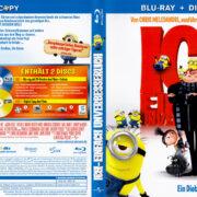 Ich – Einfach unverbesserlich (2010) R2 German Blu-Ray Cover