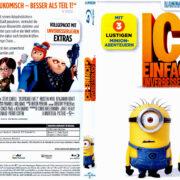 Ich – Einfach unverbesserlich 2 (2013) R2 German Blu-Ray Covers