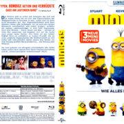 Minions (2015) R2 German Blu-Ray Covers