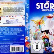 Störche – Abenteuer im Anflug (2016) R2 German Blu-Ray Cover
