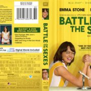 Battle of the Sexes (2017) R1 Blu-Ray Cover