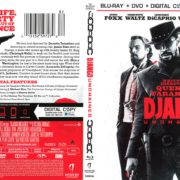 Django Unchained (2013) R1 Blu-Ray Cover