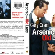 Arsenic and Old Lace (1944) R1 DVD Cover