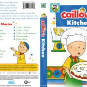Caillou's Kitchen (2018) R1 DVD Cover