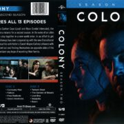Colony Season 2 (2017) R1 DVD Cover