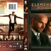 Elementary Season 5 (2017) R1 DVD Cover