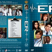 ER Season 12 (2005) R1 DVD Cover