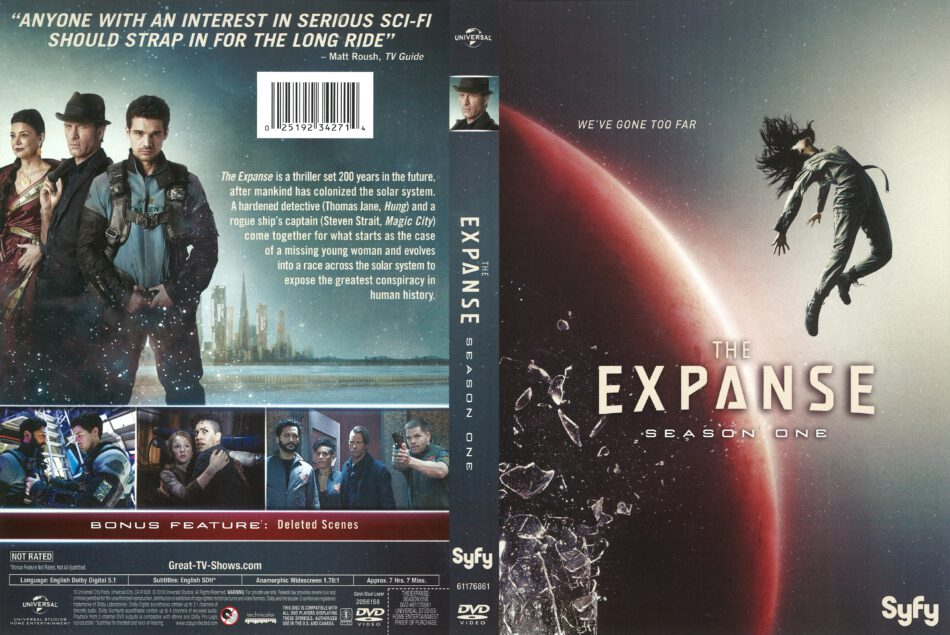794d893e1fe65a The Expanse Season 1 (2016) R1 DVD Cover - DVDcover.Com