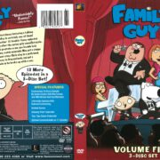 Family Guy Volume 5 (2006) R1 DVD Cover