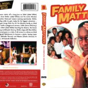 Family Matters Season 8 (2016) R1 DVD Cover