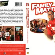 Family Matters Season 9 (2016) R1 DVD Cover