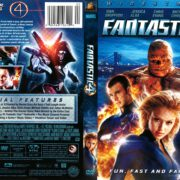 Fantastic 4 (2005) R1 DVD Cover