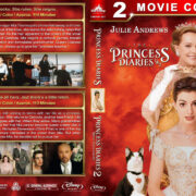 The Princess Diaries Double Feature (2001-2004) R1 Custom Blu-Ray Cover