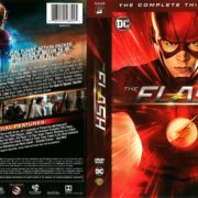 The Flash Season 3 (2016) R1 DVD Cover