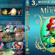 The Little Mermaid Collection (1989-2008) R1 Custom Blu-Ray Cover