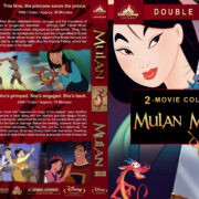 Mulan Double Feature (1998-2004) R1 Custom Blu-Ray Cover