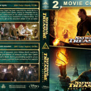 National Treasure Double Feature (2004-2007) R1 Custom Blu-Ray Cover