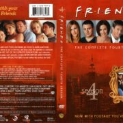 Friends Season 4 (1998) R1 DVD Cover
