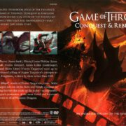 Game of Thrones: Conquest & Rebellion (2017) R1 DVD Cover