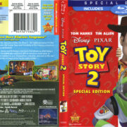 Toy Story 2 (2010) R1 Blu-Ray Cover & Labels