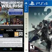 Destiny 2 (2017) PS4 Cover