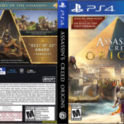 Assassin's Creed Origins (2017) PS4 Cover