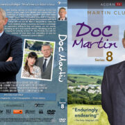 Doc Martin – Series 8 (2017) R1 Custom DVD Cover & Labels