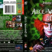 Alice in Wonderland 3D (2010) R1 Blu-Ray Cover