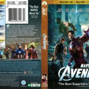 The Avengers 3D (2012) R1 Blu-Ray Cover