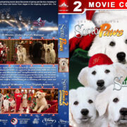 Santa Paws Double Feature (2010-2012) R1 Custom Blu-Ray Cover