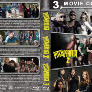 Pitch Perfect Triple Feature (2012-2017) R1 Custom Blu-Ray Cover