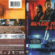 Blade Runner 2049 (2017) R1 4K UHD Cover & Labels