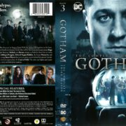 Gotham Season 3 (2016) R1 DVD Cover