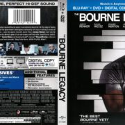 The Bourne Legacy (2012) R1 Blu-Ray Cover