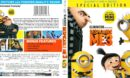 Despicable Me 3 (2017) R1 Blu-Ray Cover