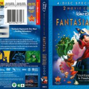 Fantasia/Fantasia 2000 2-Movie Collection (2010) R1 Blu-Ray Cover