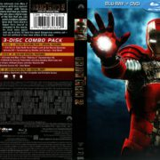 Iron Man 2 (2010) R1 Blu-Ray Cover