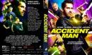 Accident Man (2018) R2 CUSTOM DVD Cover & Label