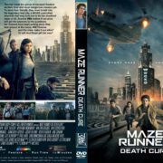 Maze Runner - The Death Cure (2018) R1 CUSTOM DVD Cover & Label