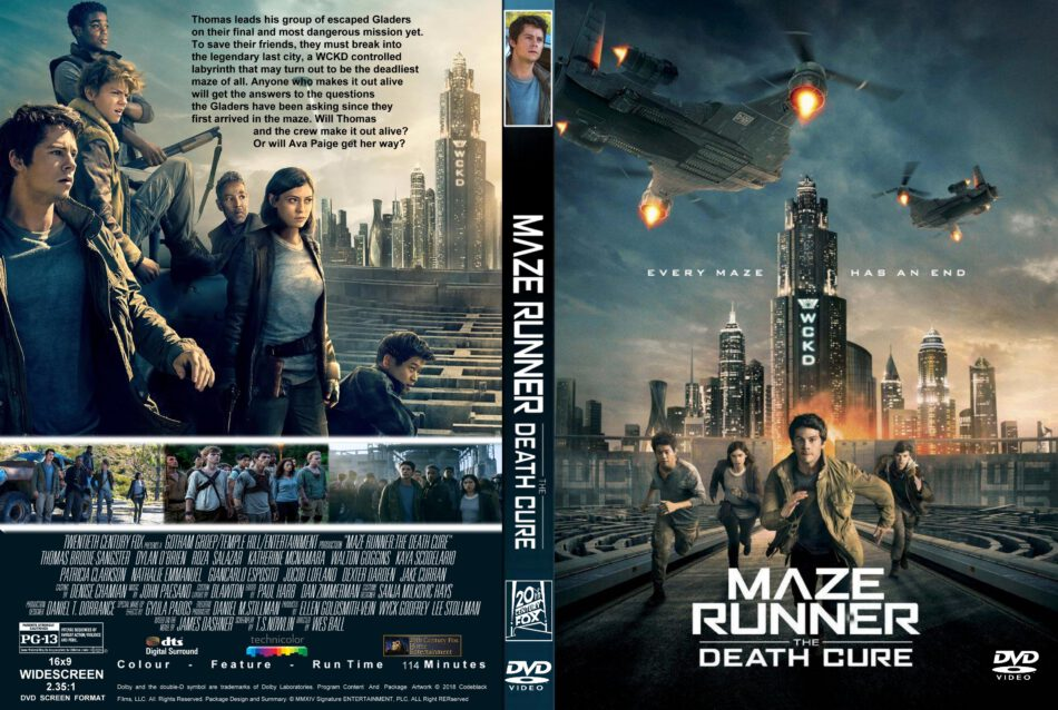 Maze Runner The Death Cure 2018 R1 Custom Dvd Cover Label Dvdcover Com