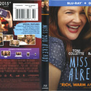 Miss You Already (2015) R1 Blu-Ray Cover & Label