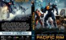Pacific Rim: Uprising (2018) R1 CUSTOM DVD Cover & Label