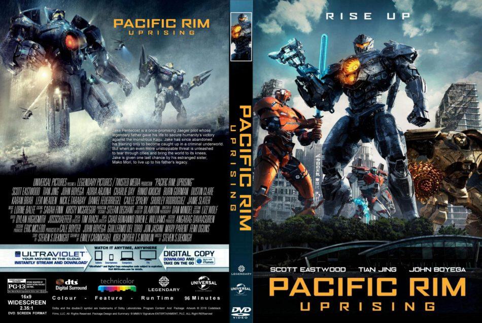 Pacific Rim: Uprising (2018) R1 CUSTOM DVD Cover & Label ... Pacific Rim Dvd Cover