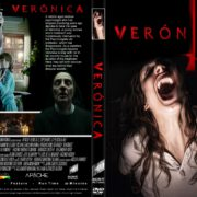 Verónica (2017) R4 CUSTOM DVD Cover & Label