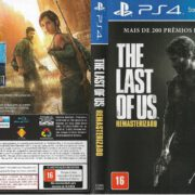 The Last of Us Remastered (2014) Brazil PS4 Cover