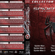 Spider-man: The Ultimate Collection (2002-2017) R1 Custom Blu-Ray Cover
